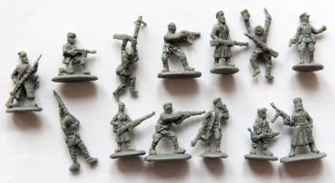 kamar figuren und modellbau shop russische partisanen in sommerbekleidung 2 weltkrieg 1 72. Black Bedroom Furniture Sets. Home Design Ideas