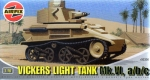 Vickers Light Tank MkVI a/b/c, 1:76