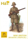 British Infantry, Kakhi Drill, World War 1, 1:72
