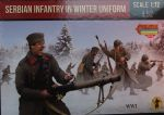 Serbische Infanterie in Winter Uniform, 1:72