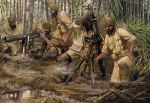 Indian Infantry, heavy weapons, WW2, 1:72