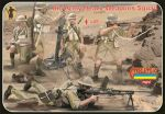 British 8th Army, heavy weapons,  1:72