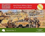 Sd.Kfz. 231, 8 Rad Heavy armoured car, 1:72