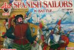 Spanish Sailors, 16th century, Set 2, 1:72