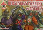 Burgundian Infantry and Knights, Set 2, 15th century, 1:72