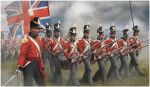 English Infantry, attacking, 1:72