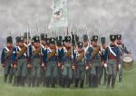 Prussian Infantry, marching, 1:72