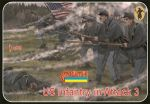Union infantry charging, Set 3, 1:72