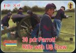 30 pdr Parrott Rifle with US crew, 1:72