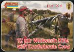 Whitworth Rifle with Confederate Crew, 1:72