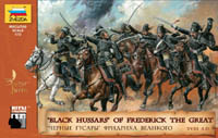 """BLACK HUSSARS"" OF FREDERICK THE GREAT, 1:72"