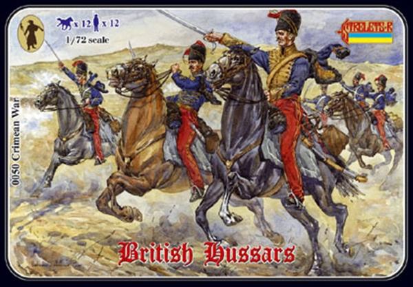 0050 Crimean British Hussars Krim-Krieg Britische Husaren 1//72 Strelets Modellbausatz