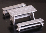 Table & Benches, 1:72